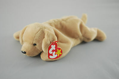 04c3ece4eff FETCH GOLDEN RETRIEVER Dog Toy TY Beanie Baby -  6.99
