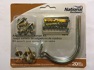 National Hardware Assorted Picture Hanging Kit 20 Pieces