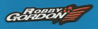 NASCAR Cart Indy 500 Iron On Hat Jacket Racing Gear Patch Crest Robby Gordon