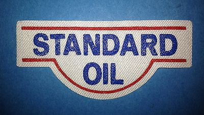 Rare 1990's Standard Oil Racing Sponsor Hat Jacket Iron On Patch Crest B
