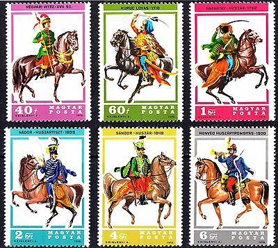 Hungary 1978 Husars Fighters on Horses Complete Set of Stamps MNH