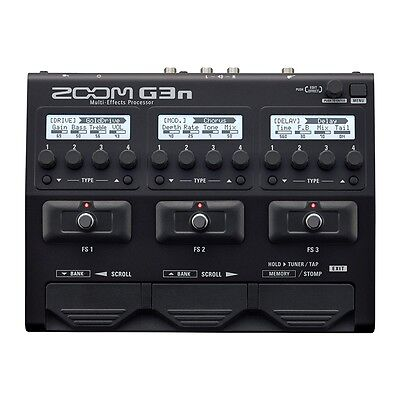 Zoom G3N Guitar Effects Processor