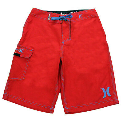 Hurley Youth One And Only Boardshorts Red 25