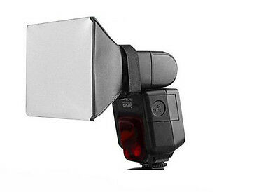 Universal Flash Diffuser for Canon 580EX /430EX Nikon SB-800 YongNuo 568/600RT