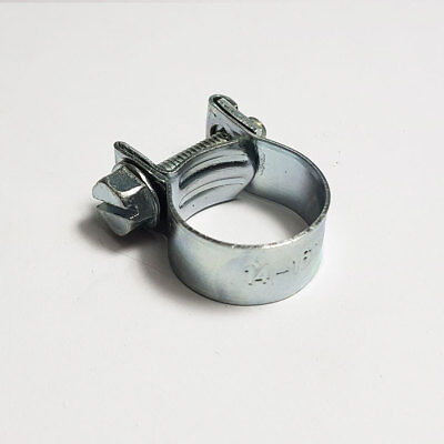 Mini Fuel Line Zinc Jubilee Hose Clip Clamp Diesel Petrol Pipe All Sizes