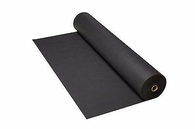 150gsm 50m Weed Control Landscaping Fabric Garden Membrane 1.6m wide Geotextile