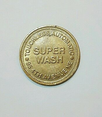 Super Wash Carwash Token - 95 4TH Avenue NE