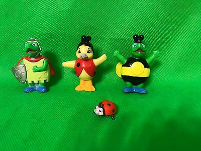 "Wonder Pets Turtle & Ming Ming Duck Figures 3"" Ladybug Bumble Bee Knight"