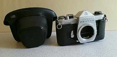 Asahi Pentax Spotmatic SP body with original case. Untested - priced to suit