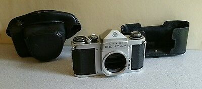 Asahi Pentax Spotmatic S3 body with original case. Untested - priced to suit