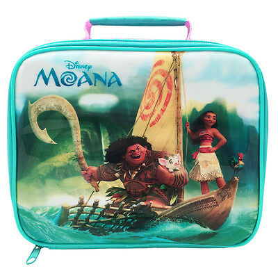 Official Licensed Product Disney Moana Rectangular Lunch Bag School Fan Gift New