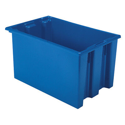 Akro-Mils Nest & Stack Tote 35240 Blue 23-1/2 x 15-1/2 x 12  3 pk