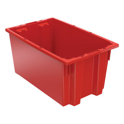 Akro-Mils Nest & Stack Tote 35185 Red 18 x 119  6 pk