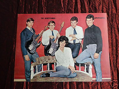 The Honeycombs - Pop Group - 1 Page Picture - Clipping / Cutting
