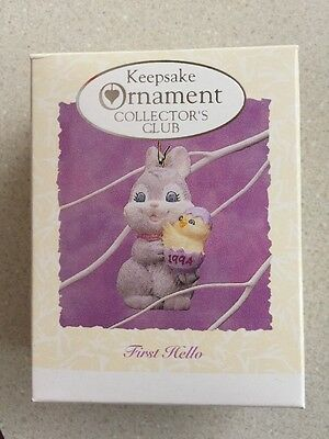 Hallmark Easter Collection NIB Mint First Hello Excellent