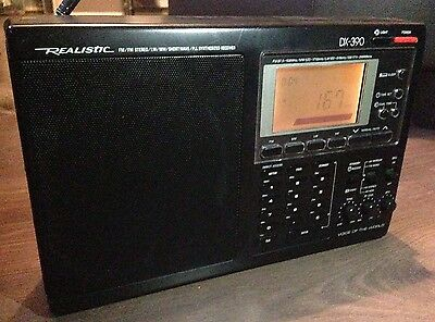 Realistic DX-390 Portable Receiver