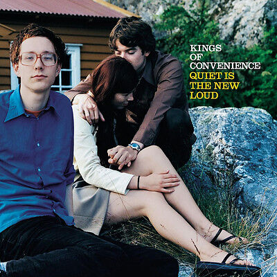 Kings Of Convenience - Quiet Is The New Loud - Vinyl LP *NEW & SEALED*