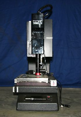 (1) Used Micro-Vu Model M301119 Video Measuring System 15950