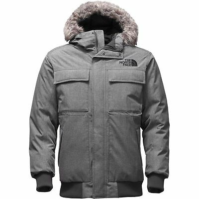 The North Face Men's GOTHAM II 550 Goose Down Jacket TNF Medium Grey Heather M