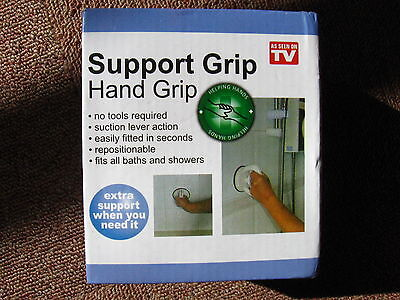 Portable Support Hand Grip for Bathroom or Shower to Aid Mobility & Safety