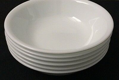 """NEW OPEN STOCK Set of 4 Corelle Winter Frost White 5 3/8"""" Fruit / Berry Bowls"""