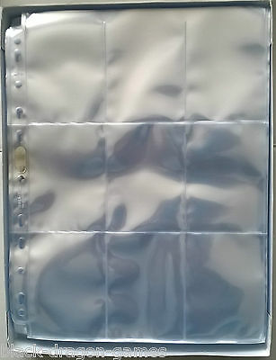 50x Ultra Pro Silver Series 9 Pocket Pages for Trading Card Folder Album YuGiOh