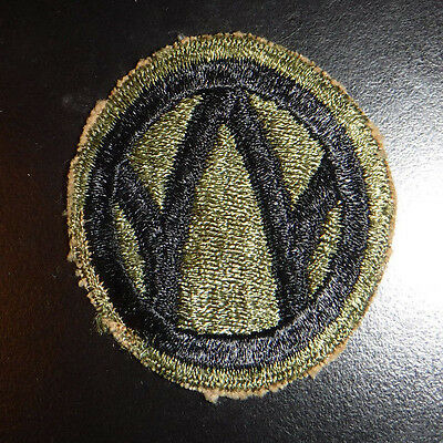 WW2 US Army 89th Infantry Division Greenback Military Patch Very Old