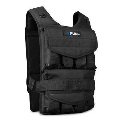 Fuel Pureformance Adjustable Weighted Vest   weight: 60 lbs