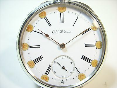 H.R RODANET MONTRE DE POCHE EN ARGENT ANCIENNE PATEK pocket watch