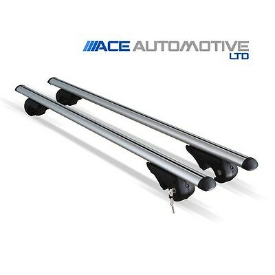 Aluminium Silver Aero Roof Bars Fits Ford S Max 2006 On