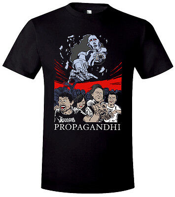 Official Propagandhi T-shirt by Brian Walsby. Limited to 500. Rare, Punk, Thrash