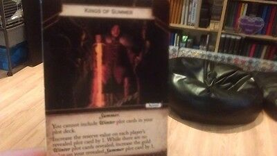 A Game Of Thrones 2.0 LCG Kings Of Summer Alt Art Promo Card