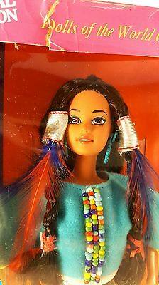 New Vintage Barbie Doll NATIVE AMERICAN Collector's Edition 1996 Mattel In Box