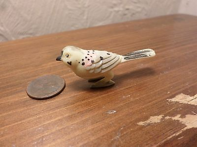 Vintage Miniature Bird Figurine Japan