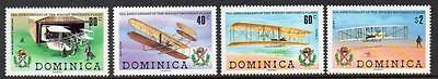 Dominica MNH 1978 The 75th Anniversary of First Powered Flight