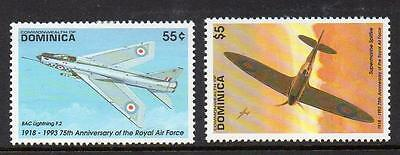 Dominica MNH 1993 The 75th Anniversary of Royal Air Force