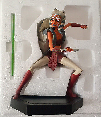 Star Wars Gentle Giant Statue Maquette Ashoka Tano with Rotta - #1279 of 1300