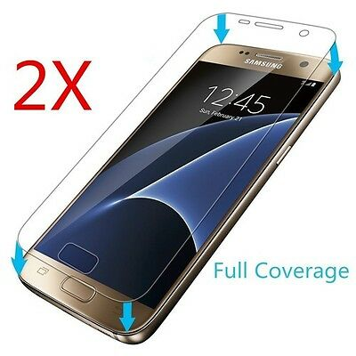 Full Screen Clear Screen Protector for Samsung Galaxy S7 Edge TPU Curved