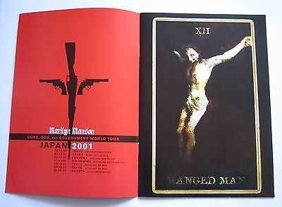 Marilyn Manson Tourbook Guns, God and Government Japan (Mint Condition)