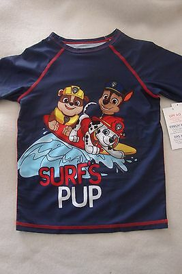 Paw Patrol / Old Navy Rash Guard Swim Shirt Nwt  Upf40 Sun Protection