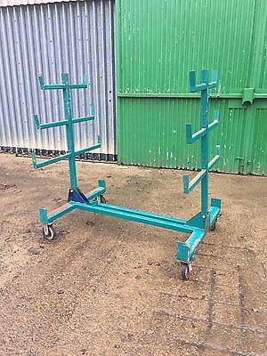 Portable Site Racking Shelving That Collapses For Metal,wood, Etc (Inc Vat)