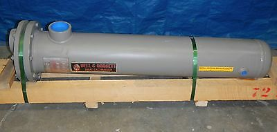 Bell & Gossett Shell & Copper Tube Hot Water Heat Exchanger 80GPM BY526008048001