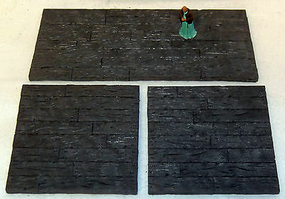 Hirst Arts Painted Woodbeam Floor Panels-Works with Dwarven Forge and DnD D&D