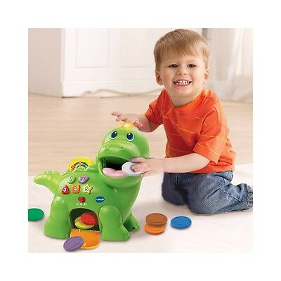 VTech Feed Me Dino, Kids Musical Educational Activity Baby Toy