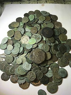 LOT OF 5 X QUALITY ANCIENT ROMAN COINS. Mixed Sizes/Rulers/Mints/Metals