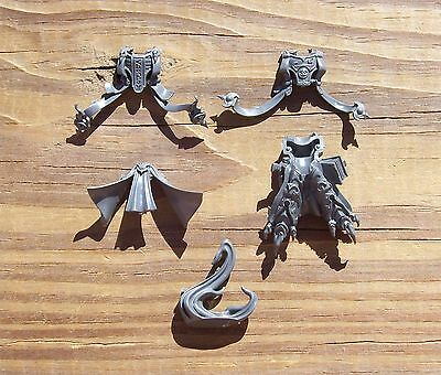 40K Thousand Sons Exalted Sorcerers Head Robed Bare Head Bits