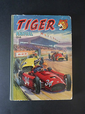 Tiger Annual 1958 * Vintage Hardback Book