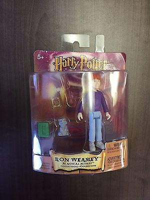 "Ron Weasley With Scabbers Magical Minis 4.5"" Action Figure - Harry Potter"