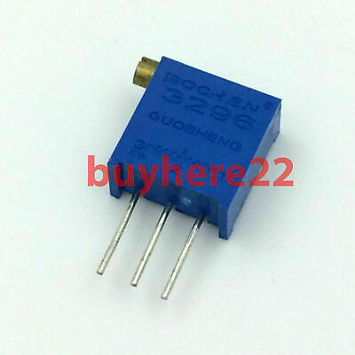 3296X 3296 X Trim Pot Trimmer Potentiometer 100R 200R 500R 2K 5K 10K 2M New UK
