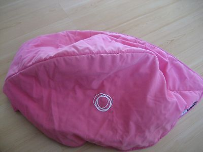BUGABOO CAMELEON Hot Pink Fleece CANOPY HOOD COVER Baby Stroller JUICY COUTURE